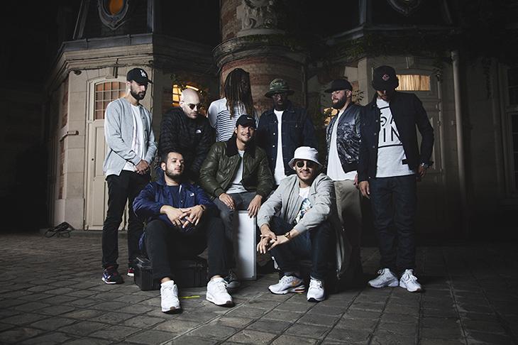 photo groupe rap lentourage david delaplace - Les visages du rap français se mettent à nu sous l'objectif de David Delaplace