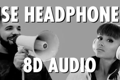 use headphone 8d audio drake music hiphop ariana grande 400x268 - La technologie 8D audio va-t-elle révolutionner la musique ?