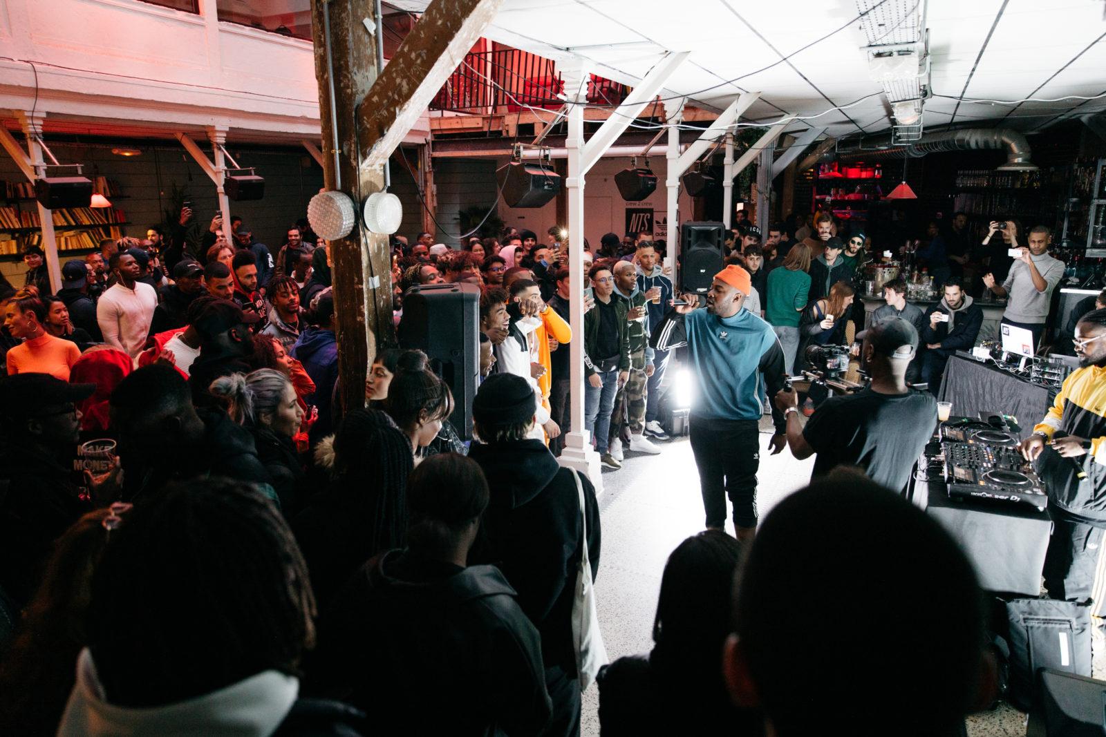 Kyu Steed, Enfantdepauvres, Kaza : NTS x Adidas Crew 2 Crew Paris