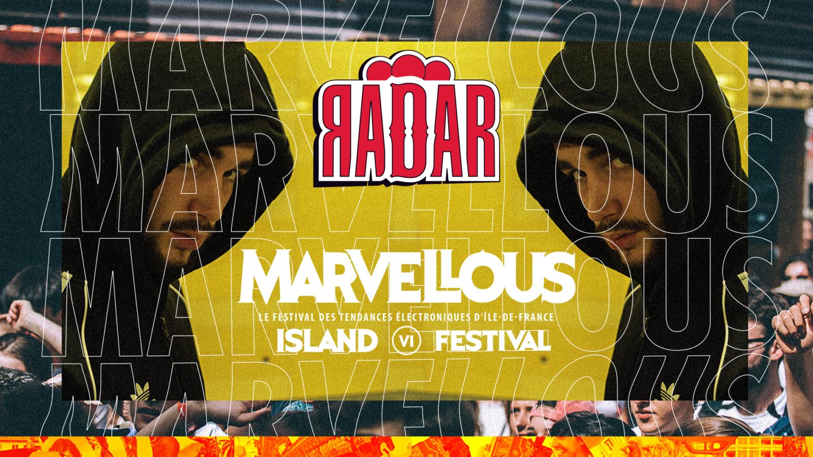 Une scène 100% hip-hop au coeur du Marvellous Island !