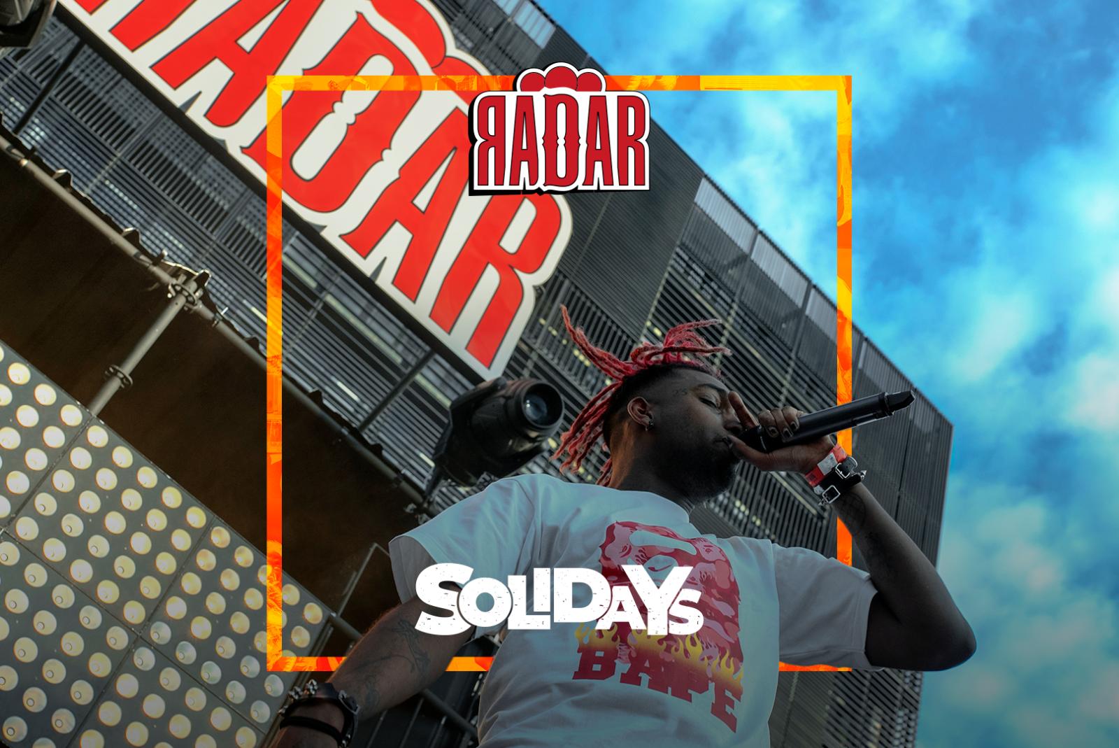 RADAR x SOLIDAYS : La relève du rap français en une playlist !