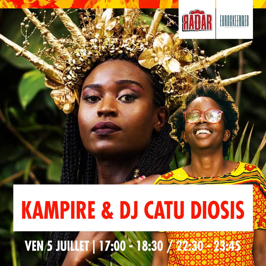 djcatueurocks1080x1080 - Du rap, des lives, des dj sets : la programmation de la scène RADAR aux Eurocks