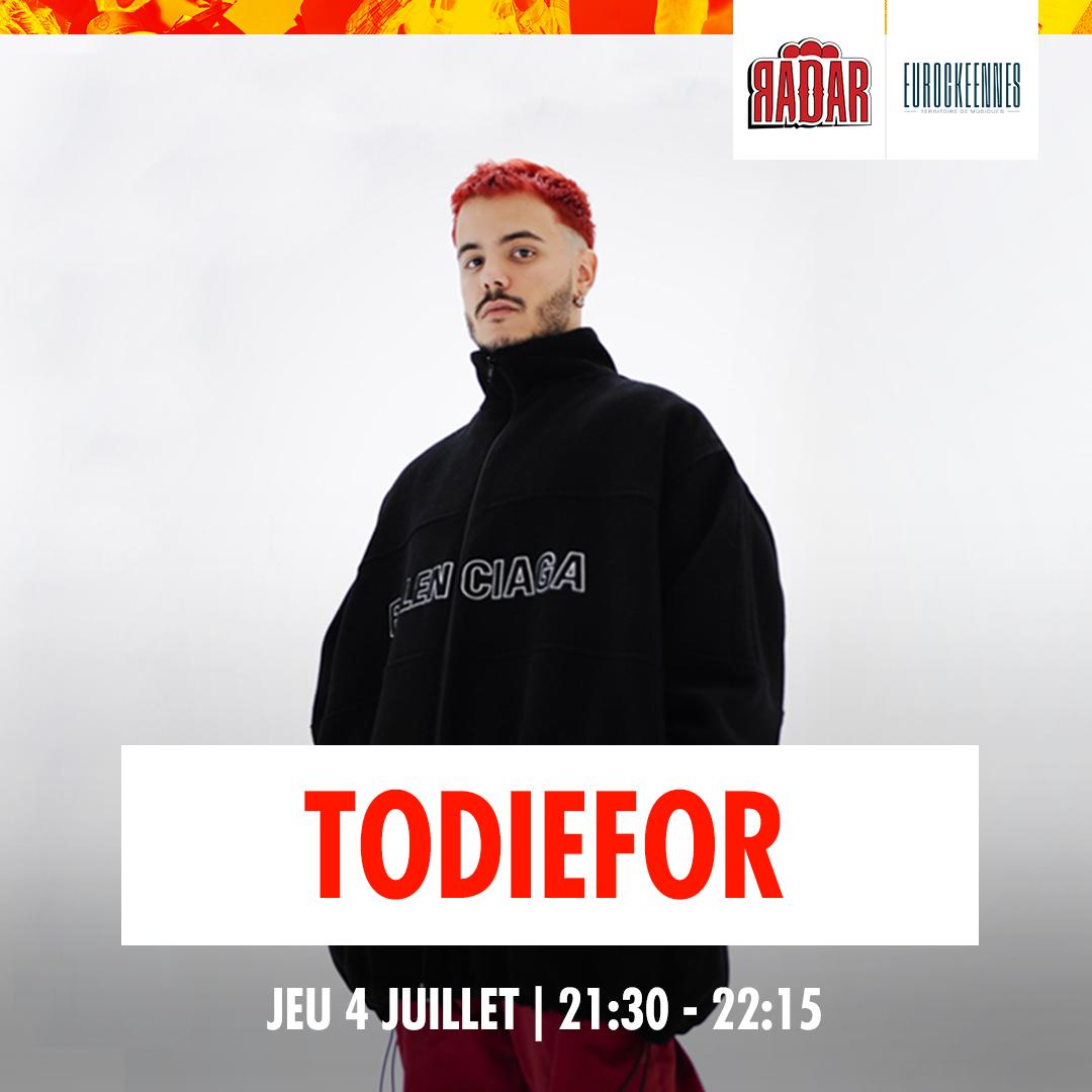 todieforeurocks1080x1080 - Du rap, des lives, des dj sets : la programmation de la scène RADAR aux Eurocks