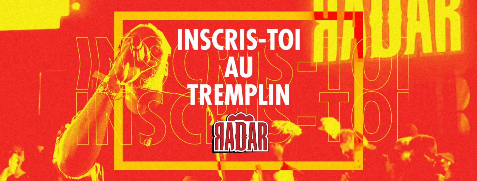 Tremplin RADAR 2020 : les candidatures sont ouvertes !