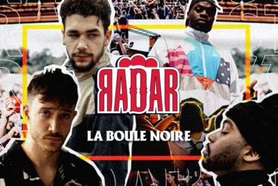 RADARxLaBouleNoire2800x450 1 400x268 - Simia, Mozo Du Zoo, Max Paro et Enfantdepauvres en concert à La Boule Noire