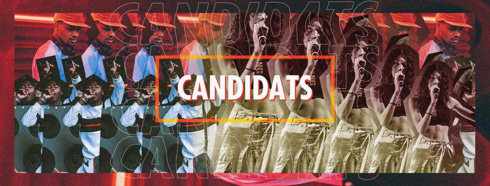 CANDIDATS 1 - Vote pour tes artistes préférés - Tremplin Radar